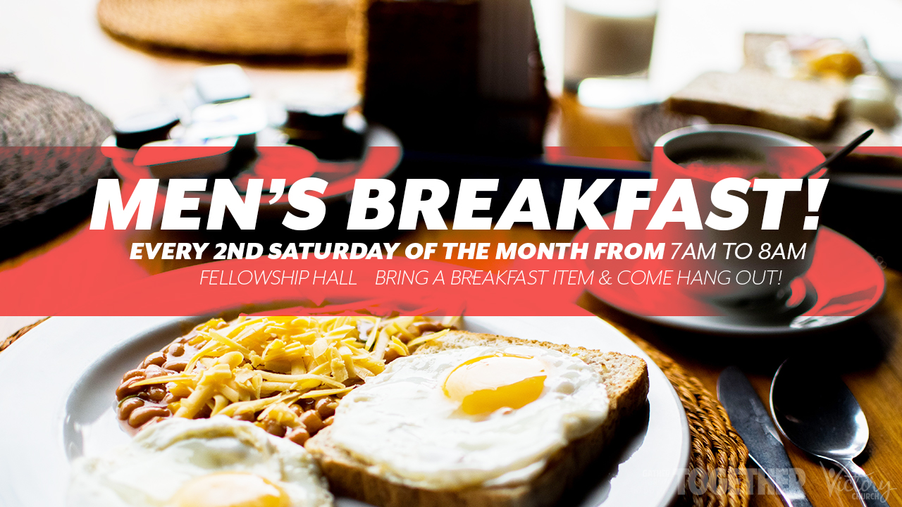 Men's Breakfast - Iron sharpens iron!