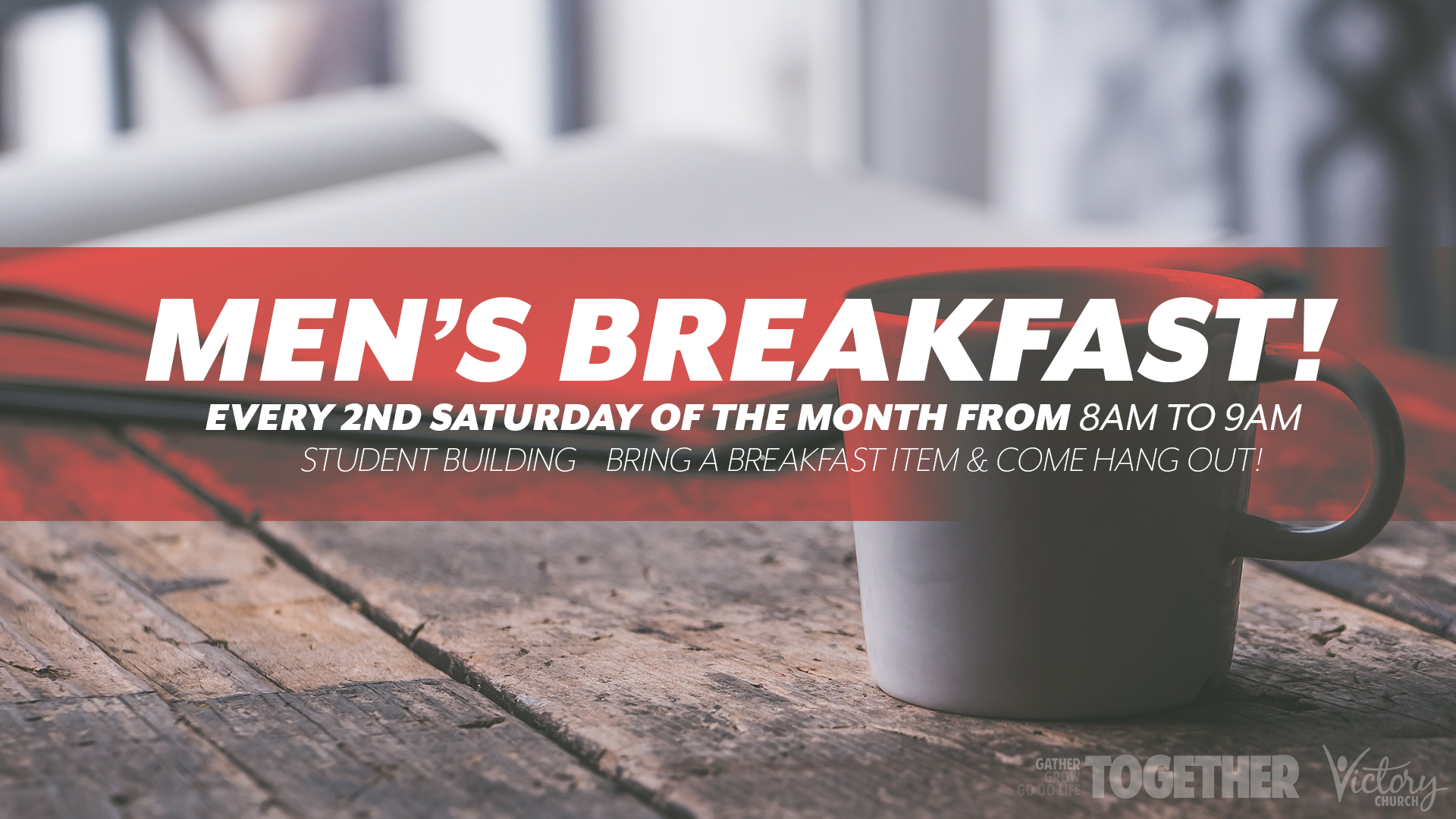 Men's Breakfast - Iron sharpens iron!
